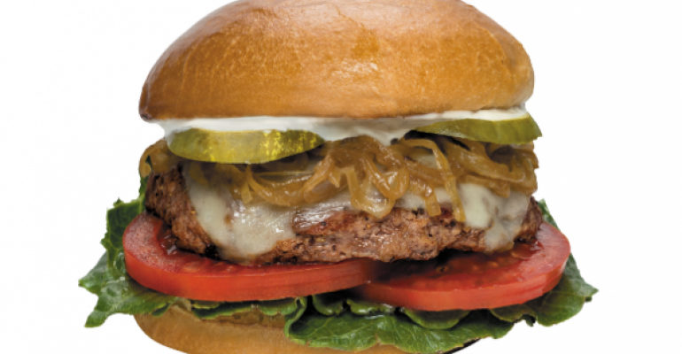 If in doubt, put a burger on your menu