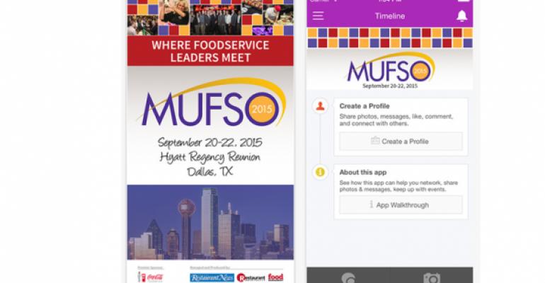MUFSO app screenshot