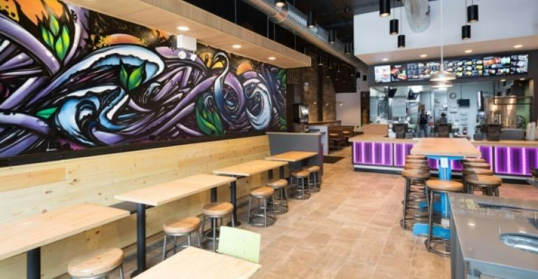 Taco Bell Cantina mural in Chicago