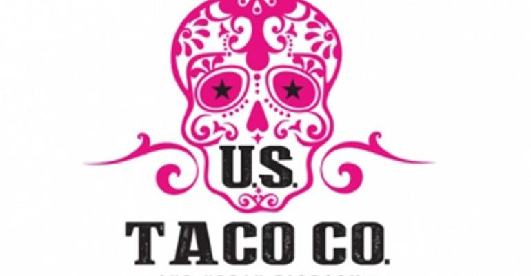 US Taco Co and Urban Taproom concept logo