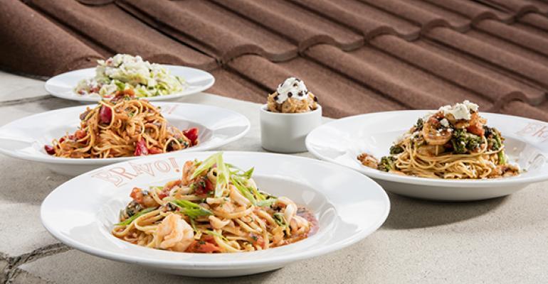 Bravo Brio pits chefs in pasta competition
