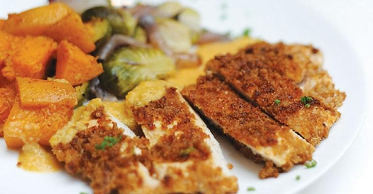 LYFE Kitchen specializes in flavorful meals made with organic and locally sourced ingredients and responsibly raised meats including its Unfried Chicken