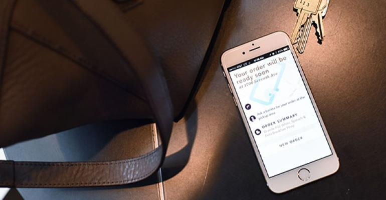 Starbucks: Mobile ordering, payment 'off to good start'