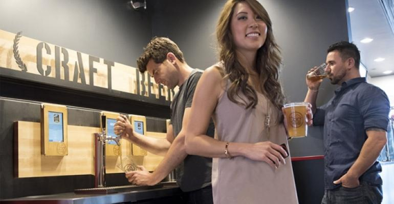 Fast casual taps sales opportunity with self-service beer