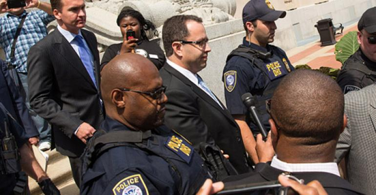 Former Subway spokesman Jared Fogle sentenced to 15 years