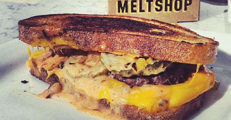 Melt Shop sandwich