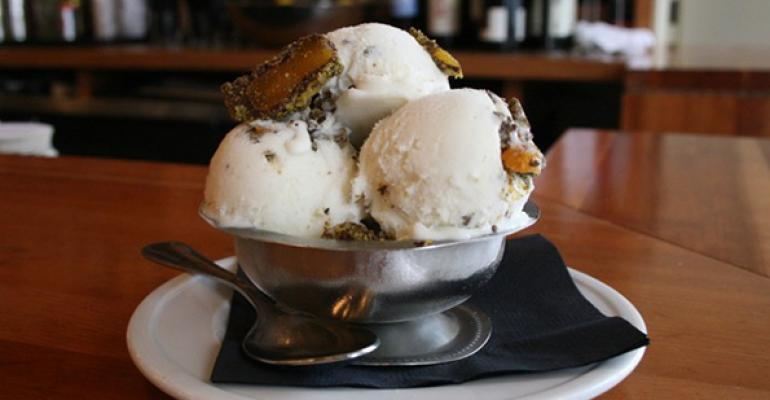 Pastaria coconut gelato