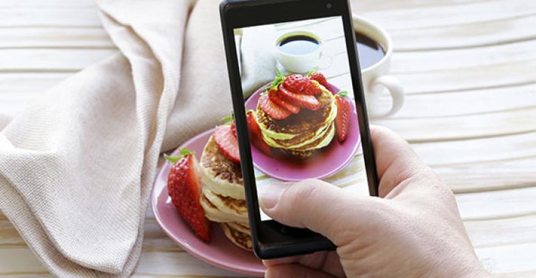 Smartphone food photo