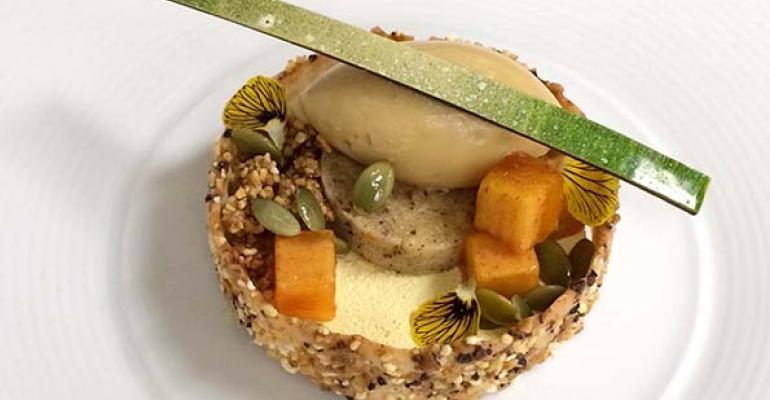 Ginger Sabayon Mousse dessert