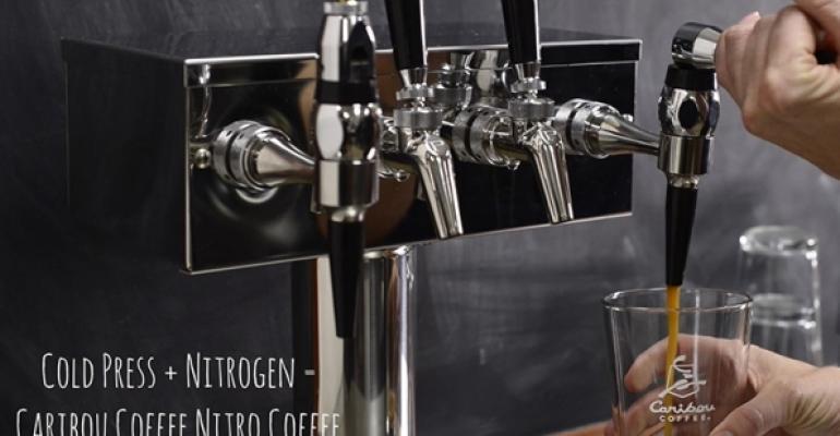 Caribou Coffee tests nitro coffee