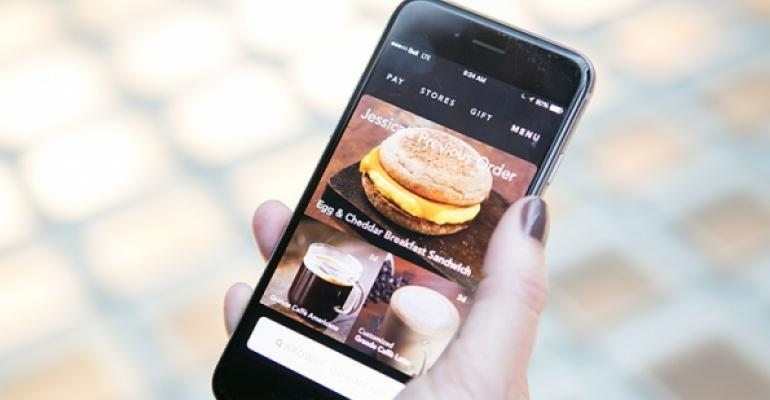 Mobile ordering is emerging as the fastest way for Starbucks customers to order