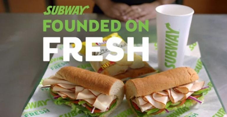 Subway fresh commercial
