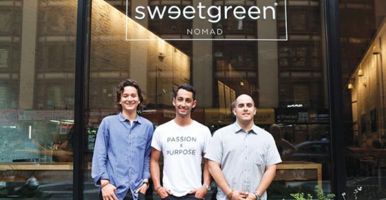 Nathanial Ru Nicolas Jammet Jonathan Neman Cofounders Sweetgreen