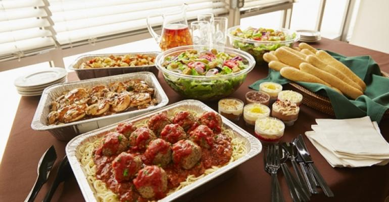 Olive garden to add catering delivery in u s and canada nation 39 s restaurant news for Olive garden national pasta day