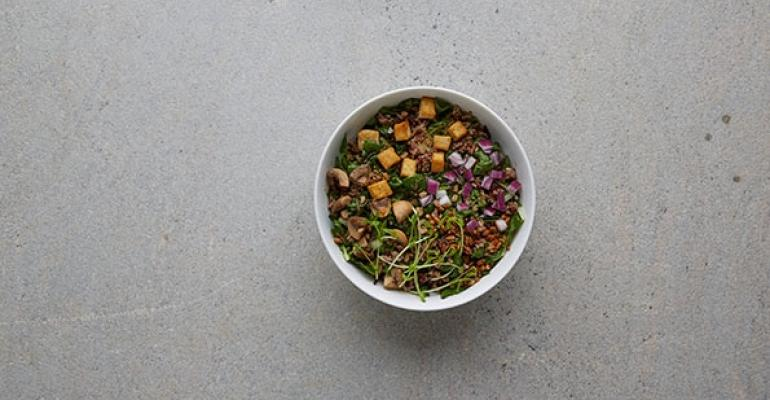 Umami grain bowl
