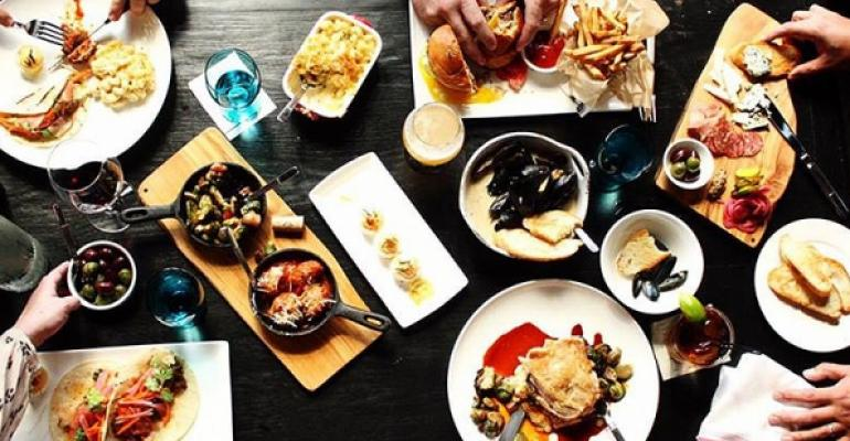 The menu developed by chef Pete Morales offers a spectrum of price points allowing customers to spend 15 or 50