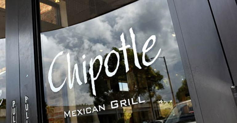 Chipotle sign