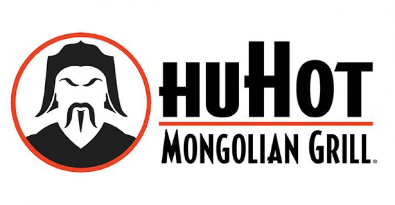 HuHot Mongolian Grill logo