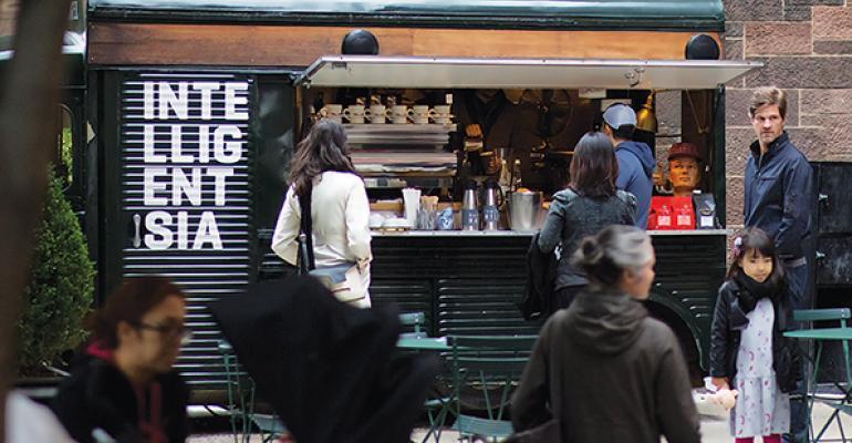 Intelligentsia Coffee cart