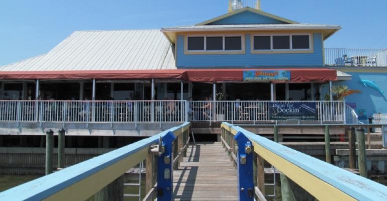 Mulligans Beach House Bar and Grill in Sebastian Fla