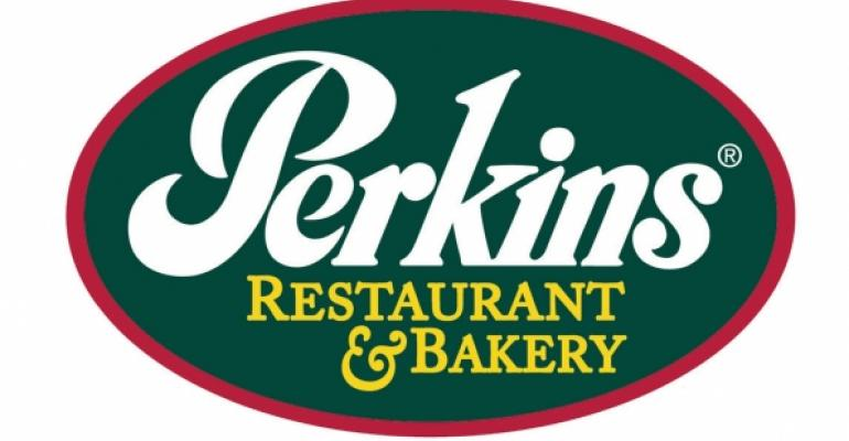 Perkins gets boost from remodels, menu changes
