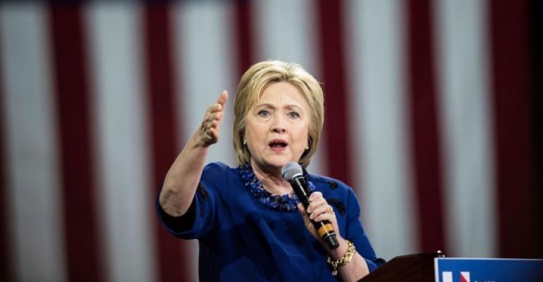 Hillary Clinton New York City rally