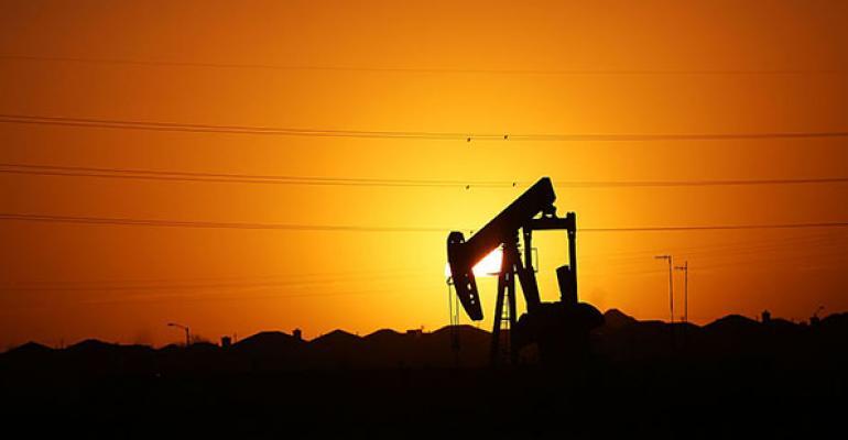 Texas oil field