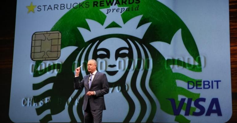 Starbucks Visa card