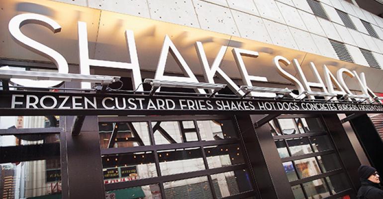 Shake Shack signage