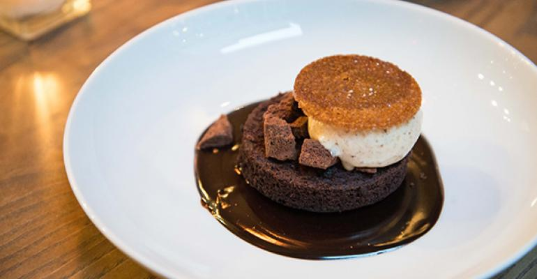 The Gander Hot German dessert