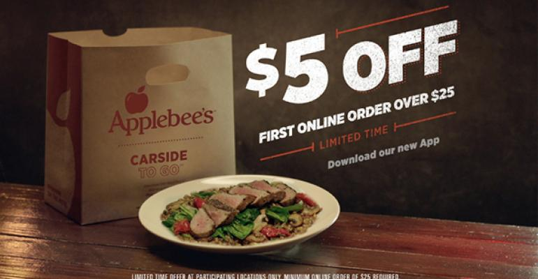 Applebees carside app
