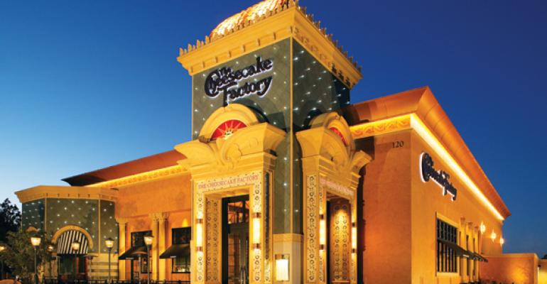 Lower costs, higher sales drive Cheesecake Factory 1Q