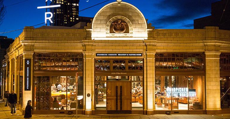 Starbucks Roastery Seattle
