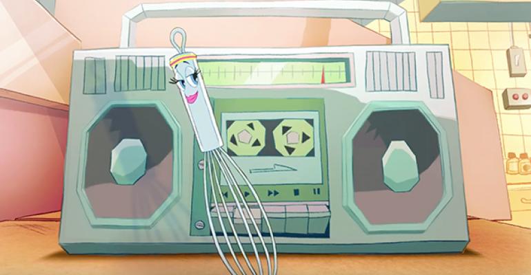 Cheesecake Factory uses cartoon utensils to tell 'Made Fresh' story