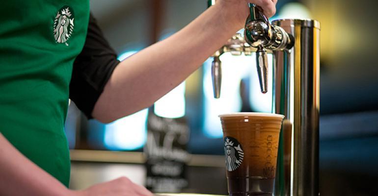 Starbucks Nitro Cold Brew coffee