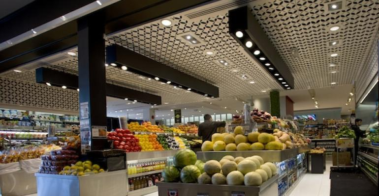 Labor costs are giving grocers an advantage