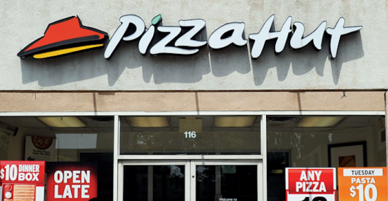Pizza takes substantial slice of industry pie