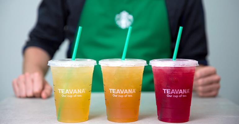 Starbucks said the readytodrink products will include ldquoepicurean flavorsrdquo from Teavana favorites yet to be revealed