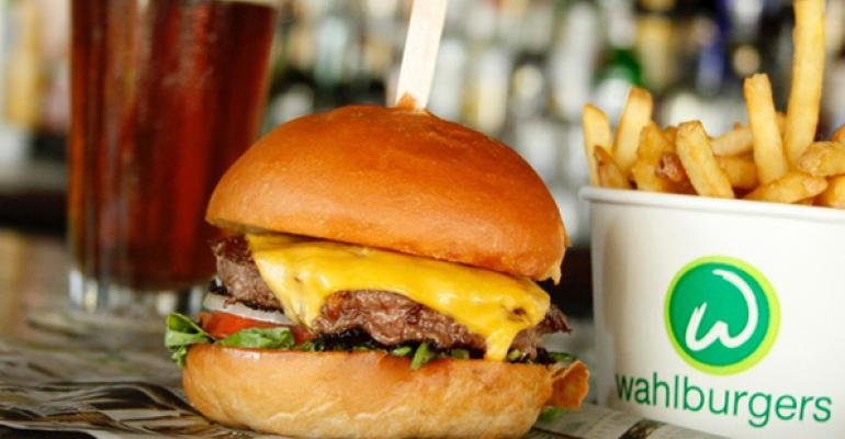 Wahlburgers burger