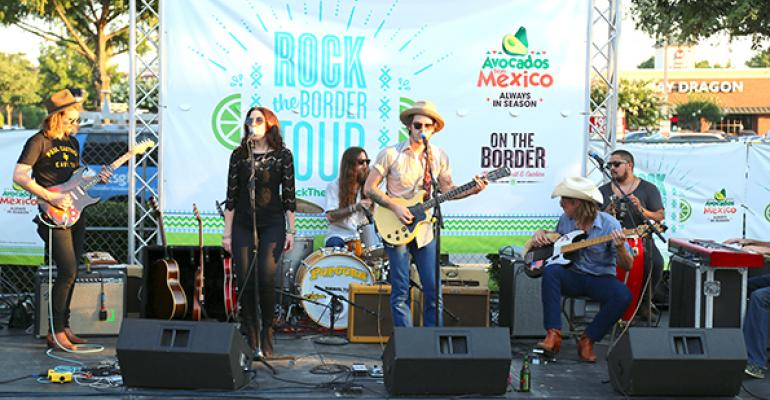 Musical group Rise amp Shine performed in the concert that was livestreamed to 140 On the Border units nationally