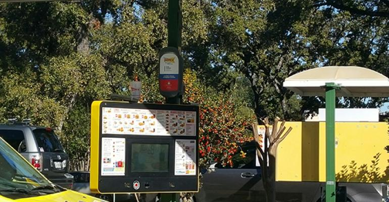 Sonic DriveIn is testing carcharging stations in Boerne Texas
