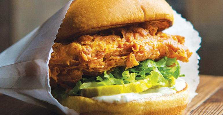 Shake Shacks chicken sandwich The Chickn Shack