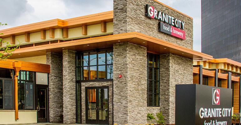 Granite City Food & Brewery names Phil Costner CEO