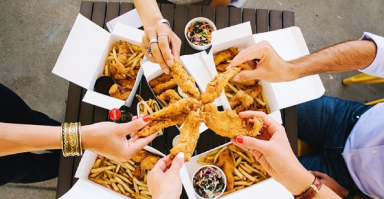 Starbird a fastcasual glutenfree fried chicken creation of San Franciscobased The Culinary Edge opened its first restaurant in Sunnyvale Calif in June