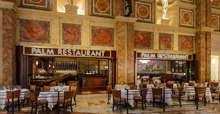 The Palm in Las Vegas closed last summer and reopened in September with a complete refresh