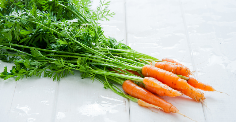 Chefs turn carrot tops from waste into gold