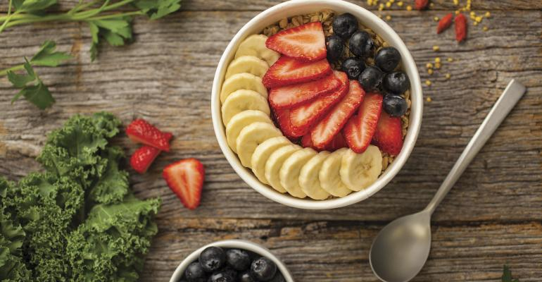 Healthy breakfasts now come in a bowl