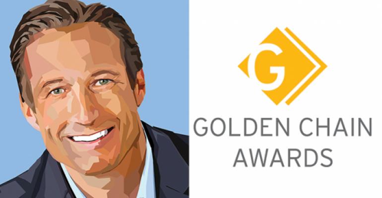 2016 Golden Chain winner: Paul Brown