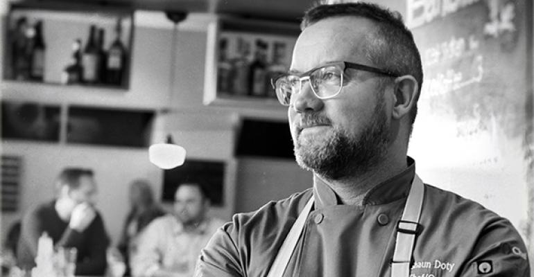 Restaurateur Shaun Doty is returning to his chef roots by converting one of the Bantam amp Biddy spaces to The Federal a restaurant slated to open later this month in Midtown Atlanta in the shadow of the Federal Reserve building
