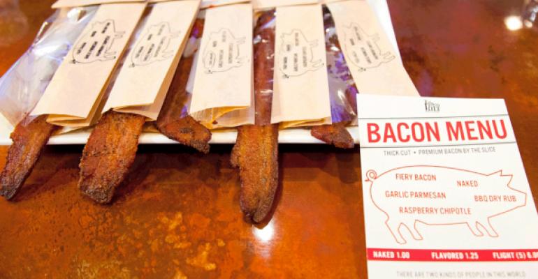 tilted kilt bacon bar